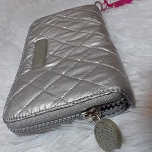 Macbeth Collection Quilted Wallet Wristlet